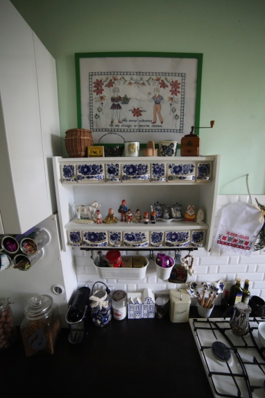 Moja kuchenna sekcja vintage